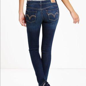 Levi's 535 Super Skinny Jeans in Wanderer